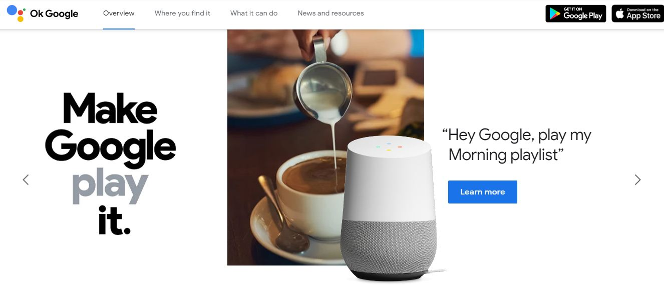 google-assistant-homepage