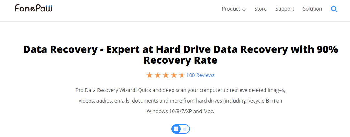 fonepaw-data-recovery-review-homepage